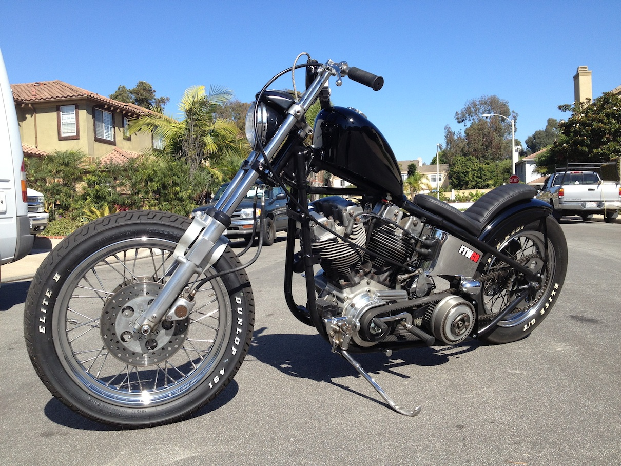cycle zombies blog: S O L D (((((For Sale)))) 1979 H.D. Rigid ...