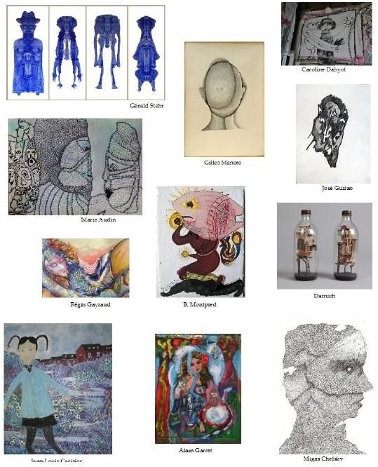 EXPOSITION «Aventures de lignes», Galerie associative Amarrage, Puces de St-Ouen