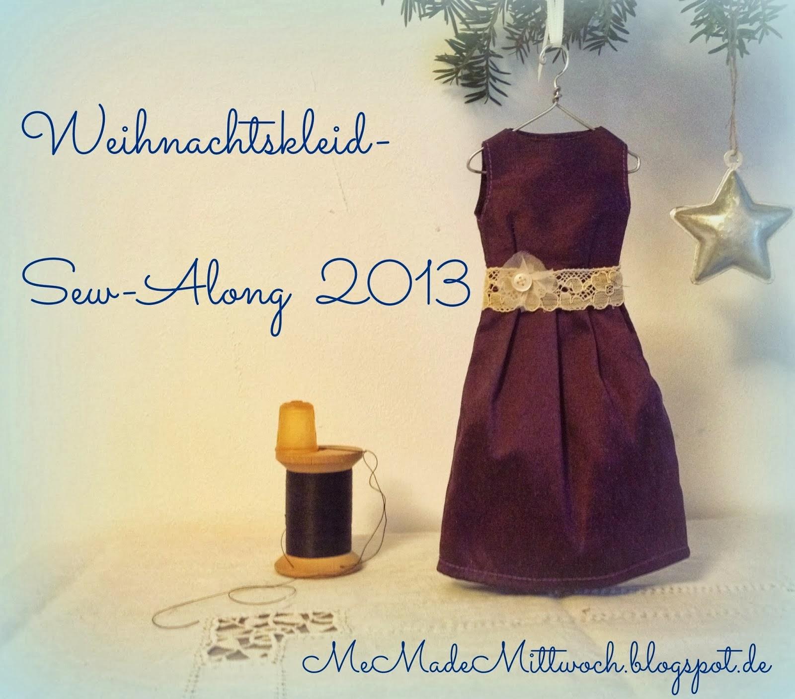 Weihnachtskleid Sew Along 2013