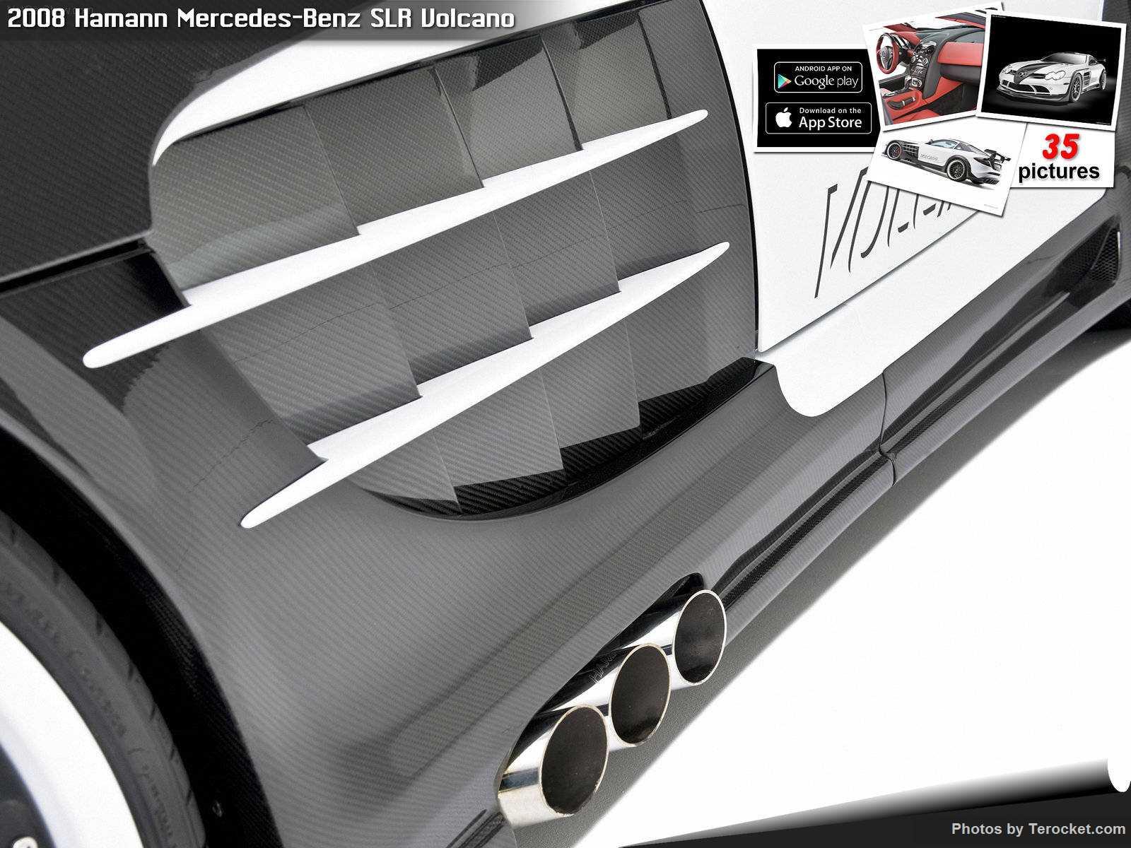 Hình ảnh xe ô tô Hamann Mercedes-Benz SLR Volcano 2008 & nội ngoại thất