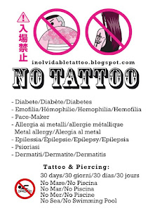 Inolvidable Tattoo Shop... No Tattoos & Piercing ...