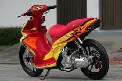 Modifikasi Suzuki Hayate