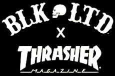 thrasher magazine x blk ltd ©
