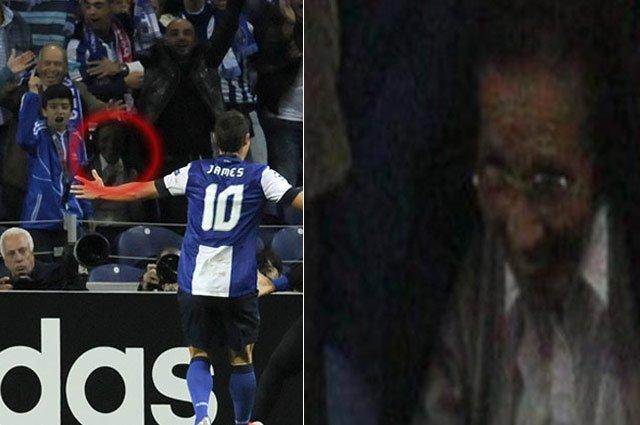 ¡El 'fantasma' de James Rodríguez era una 'viejita'!