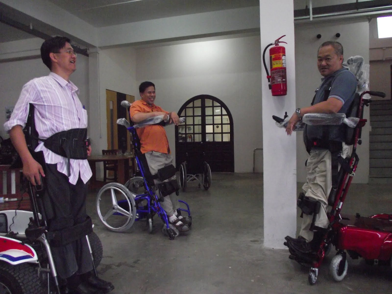 Murat Vision Enterprise Standing And Motorize Wheelchair