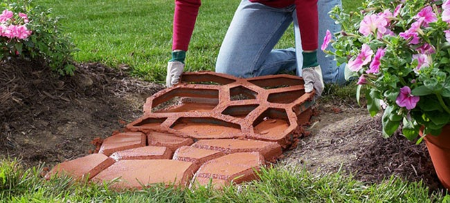 Cement paver molds the most recent pattern in home improvement home improvement tips - Building river stone walls with mortar sobriety and elegance ...