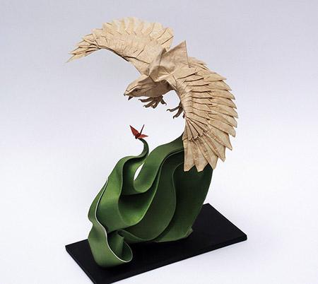 بالصور: فن الأوربغامي الياباني ( فن طي الورق )