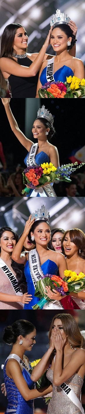 PIA  WURTZBACH  IS  MISS UNIVERSE  2015, AND OH, NOT BEFORE  A MAJOR BOO-BOO!