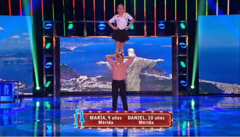 Daniel y María: Final individual Pequeños Gigantes