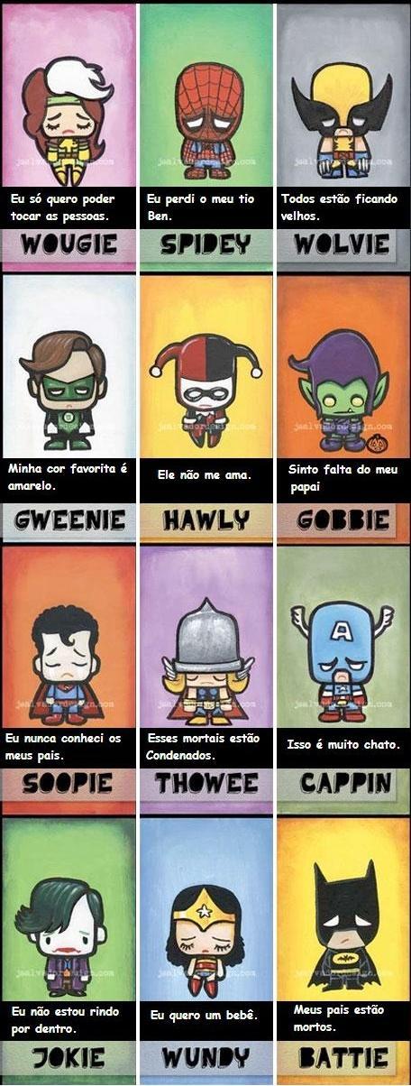 Super-Heróis Emos