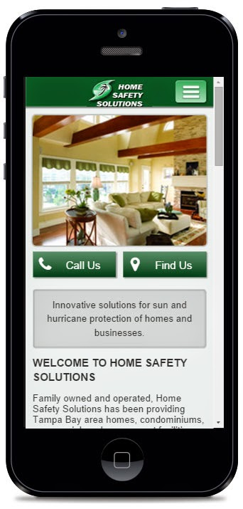 Home Safety Solutions NEW Mobile Website