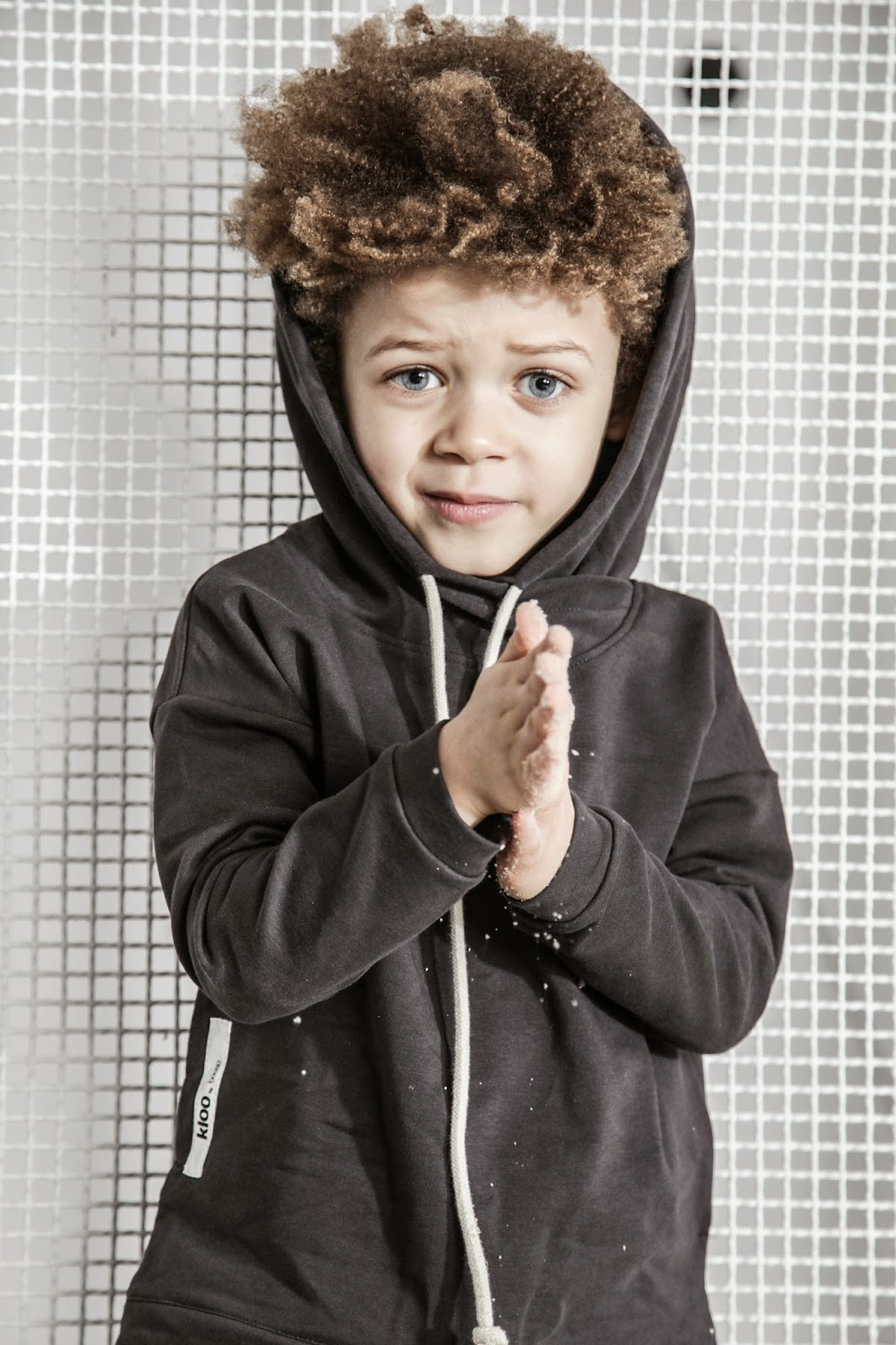 Kloo by Booso - Polish kids fashion spring-summer 2015 - black hoodie