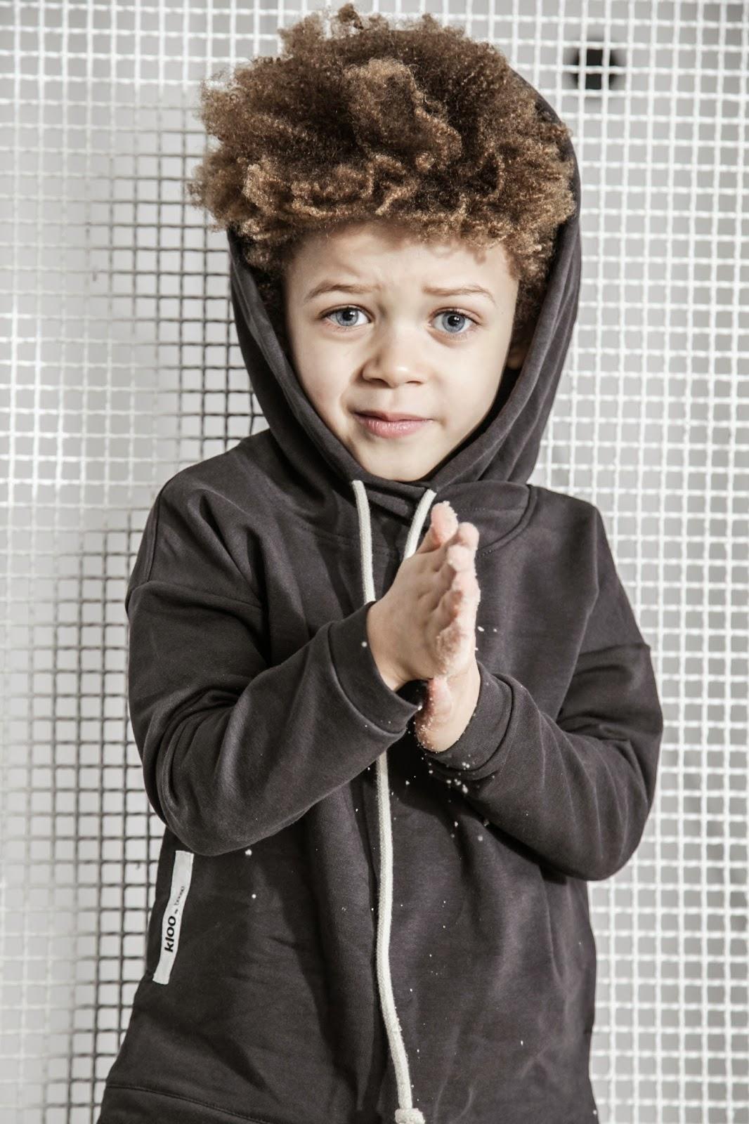 Kloo by Booso - Polish kids fashion spring-summer 2015 - black hoodie