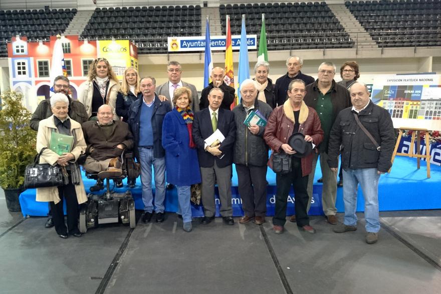 EXFILNA: Visita de los socios de ACOCOR a la exposición