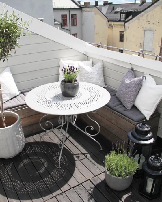 decoración terrazas pequeñas