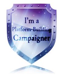 I'm a platform-building campaigner