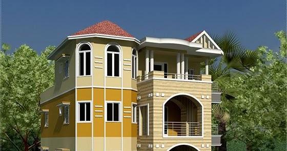 3 Storey South Indian House Design House Design Plans