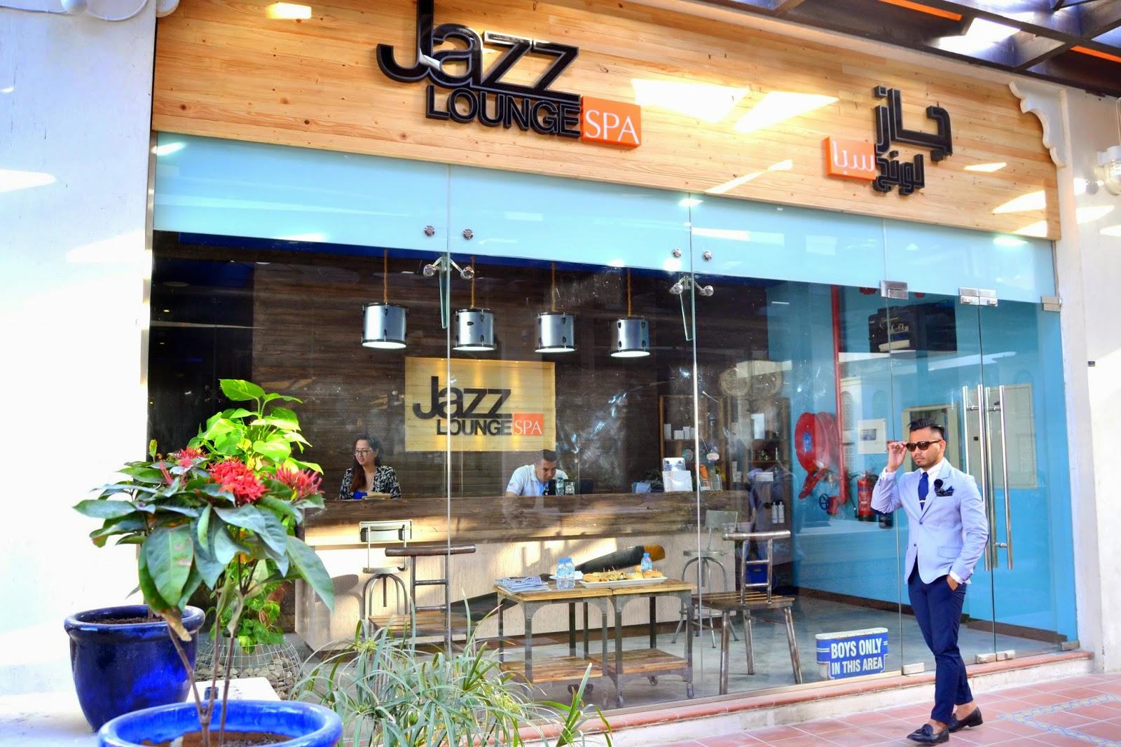 The style choreo jazz lounge spa for Salon lounge