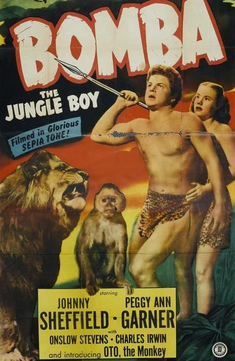 """BOMBA - """"O Filho das Selvas"""" - 1949"""