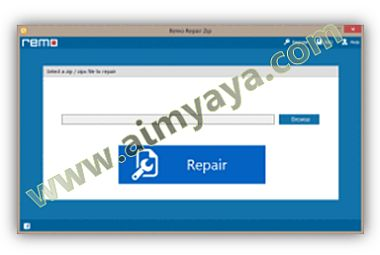 Gambar: Interface Remo Repair Word