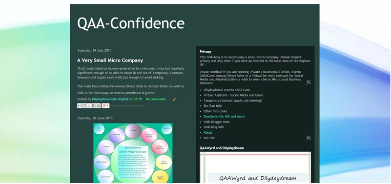 QAA-Confidence - a Plan Higher Micro Co for Tuition and other Strands