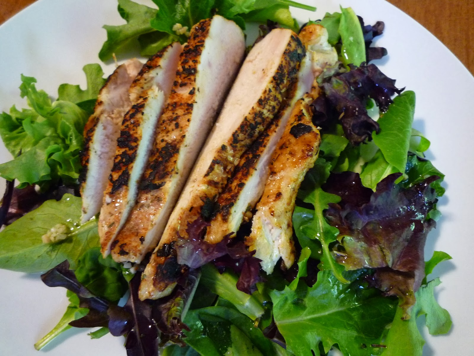 blackened salmon-blackened chicken   fashionably foodie