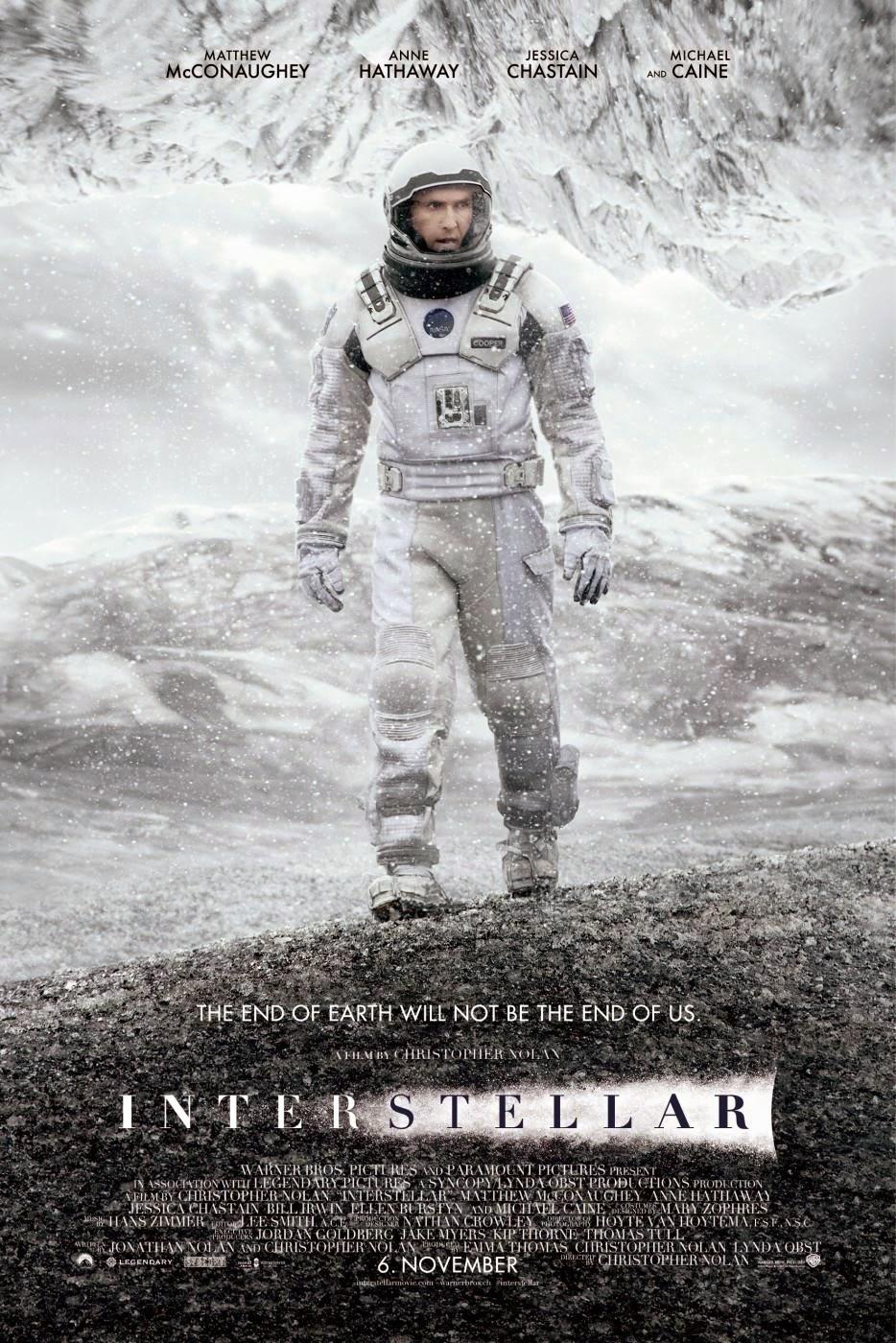 Interstellar recensione poster
