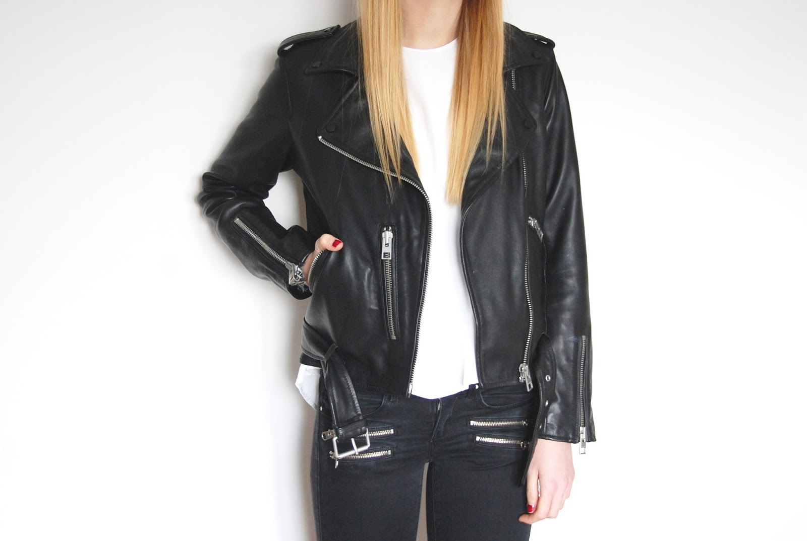 All Saints Balfern Sahara Leather Biker Jacket Review ...