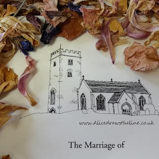 The Church :: www.AliceDrawsTheLine.co.uk