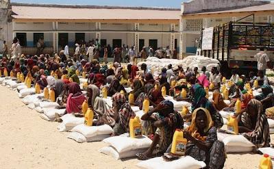 Donnez aide à l'Afrique