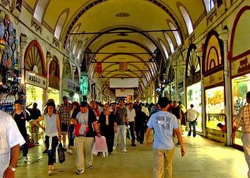 Tempat wisata terkenal di Turki istambul Istanbul pasar grand bazaar