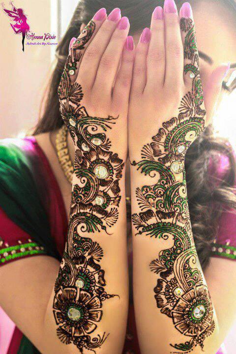 Mehndi Hands Dp : Eid mubarak mehndi heena designs for girls ramadan