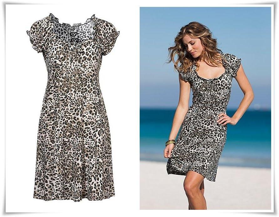 Angel of Shopaholic  Leopardmönstrad klänning. dabd7c4180715