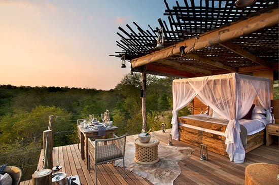 Safari Fusion blog | African treehouses | Stylish tree lodgings at Lion Sands Kingston Treehouse, South Africa