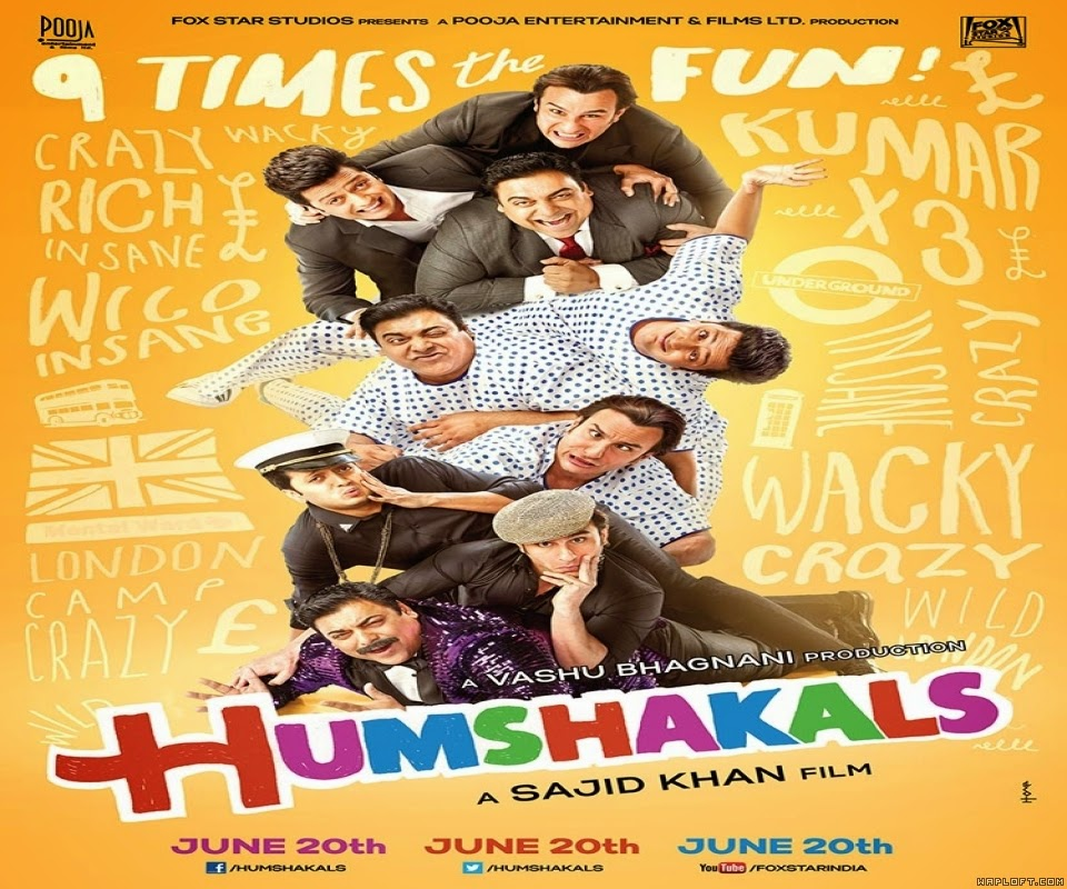 Humshakals 2014 Hindi Movie Watch Online