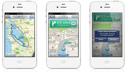 iOS 3D Map