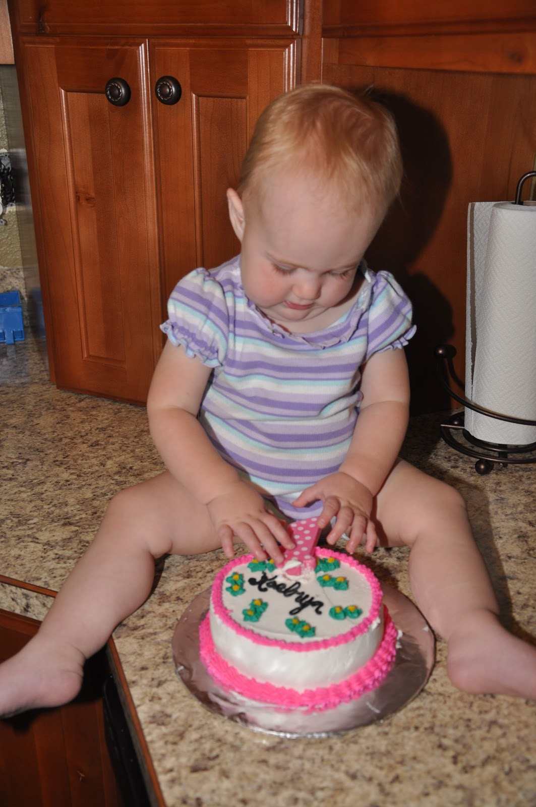 6 Inch Happy Birthday Single Layer Cake Perfect For Baby 10 00