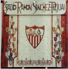 El  mosaico de azulejos del Estadio del Sevilla