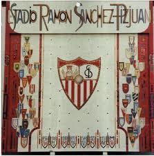 El  mosaico de azulejos del Estadio del Sevilla