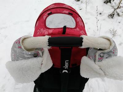 муфта-варежки для коляски