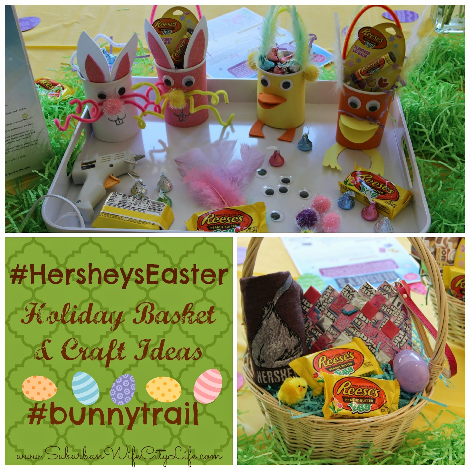 Easter basket ideas crafts from hersheys bunnytrail suburban easter basket ideas crafts from hersheys bunnytrail suburban wife city life negle Gallery