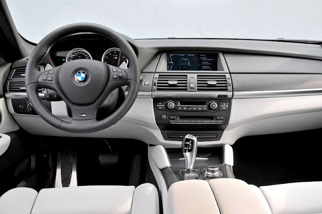 2010 BMW X6 M Front Interior