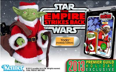 Gentle Giant Star Wars Kenner Jumbo Holiday Yoda Exclusive Figure