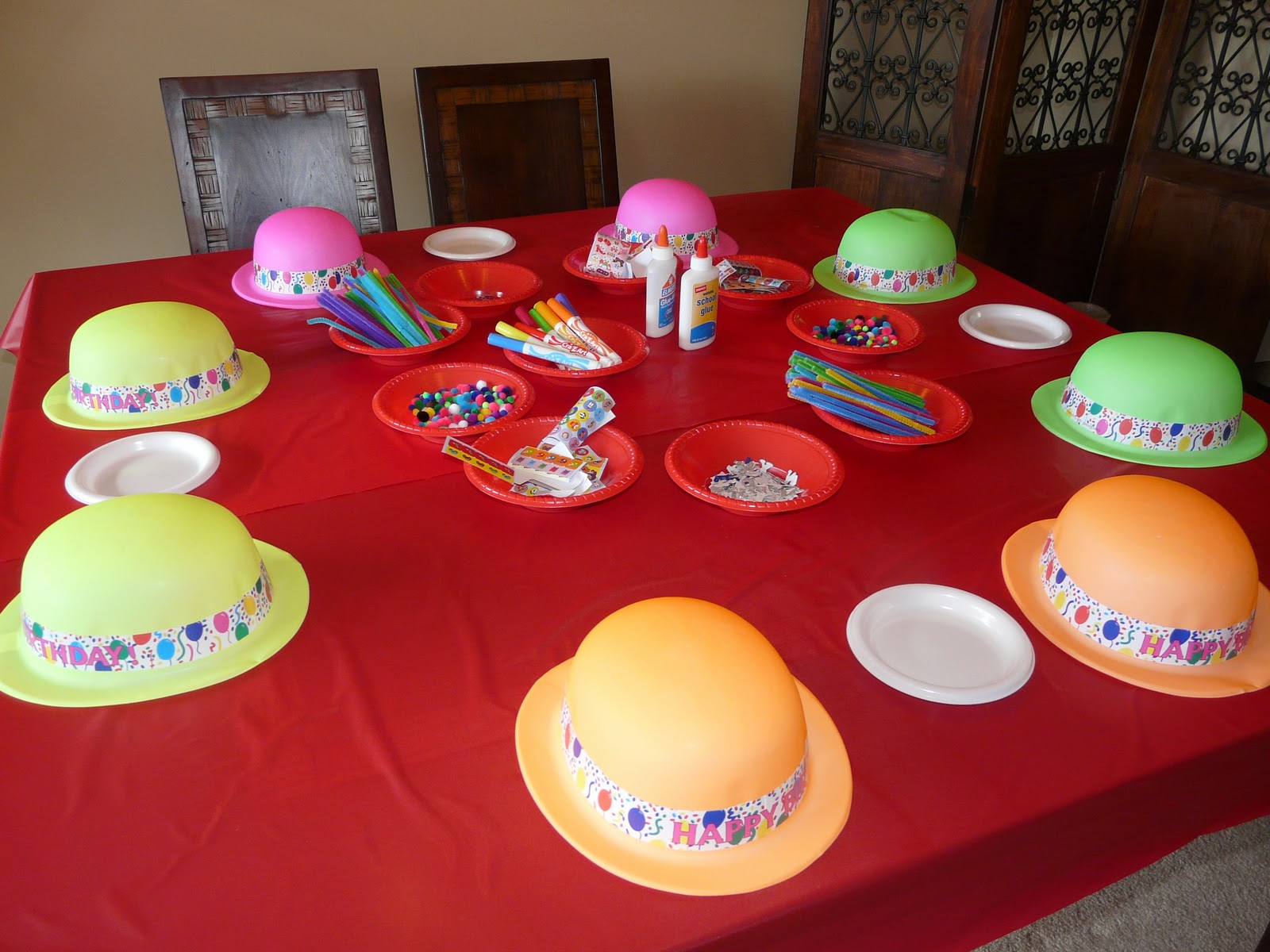 A Circus Birthday Party Part Two Games amp Activties