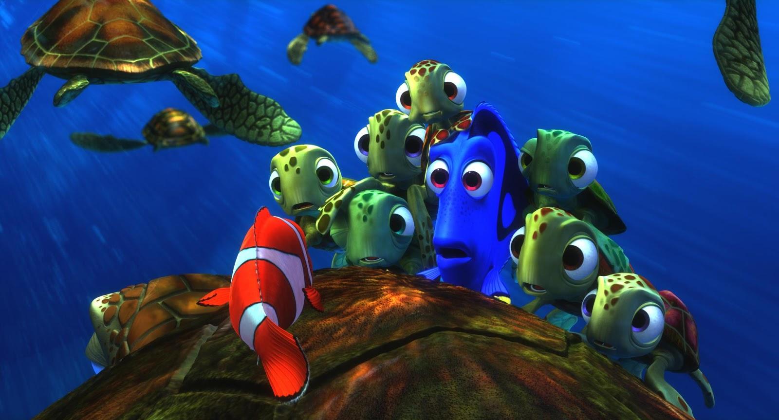 My favourite pixar movie finding nemo 2003 for Finding nemo fish