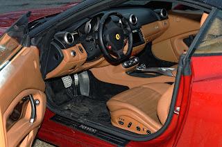 intérieur Ferrari California