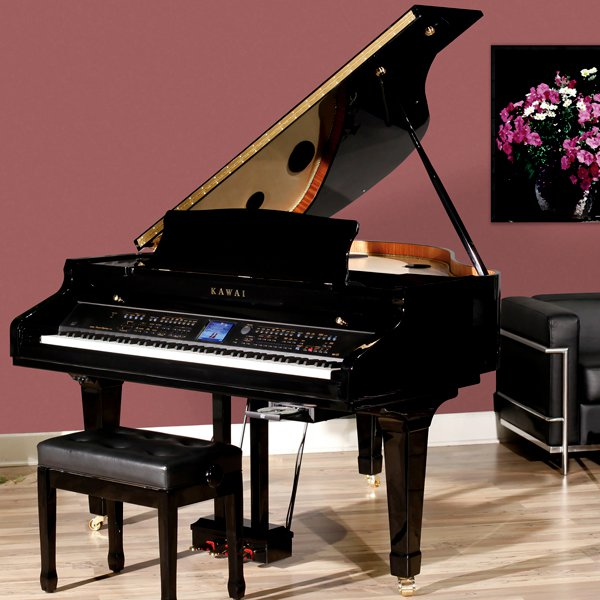 Azpianonews reviews digital grand pianos for 2014 for Size of baby grand piano
