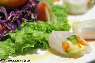 Spring Rolls of The Buffet International Cuisine
