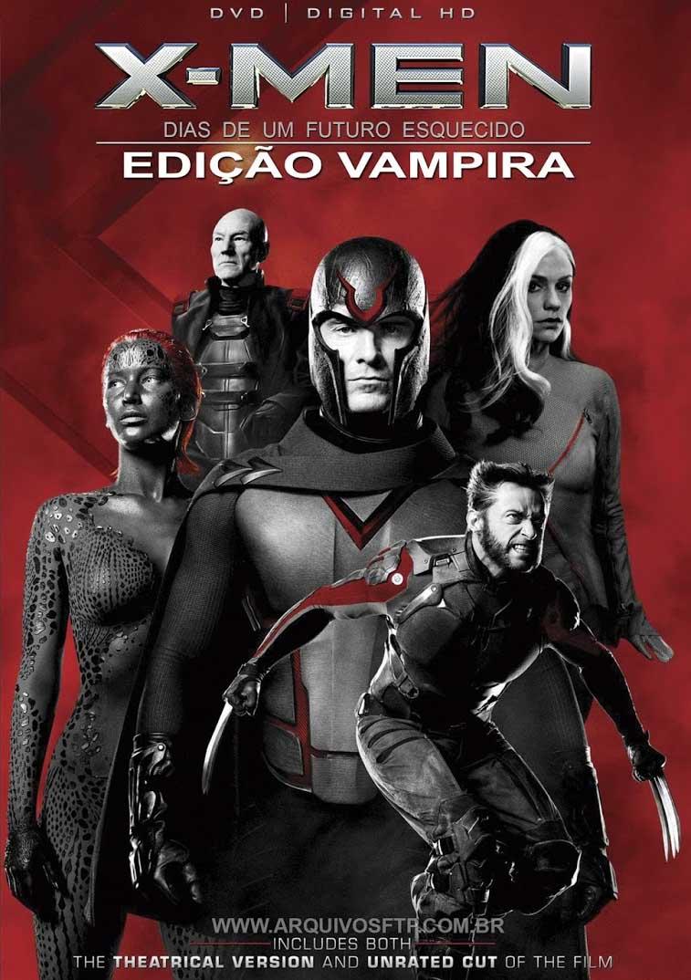 X-Men: Dias de um Futuro Esquecido – Edição Vampira Torrent - BluRay 720p/1080p Dual Áudio