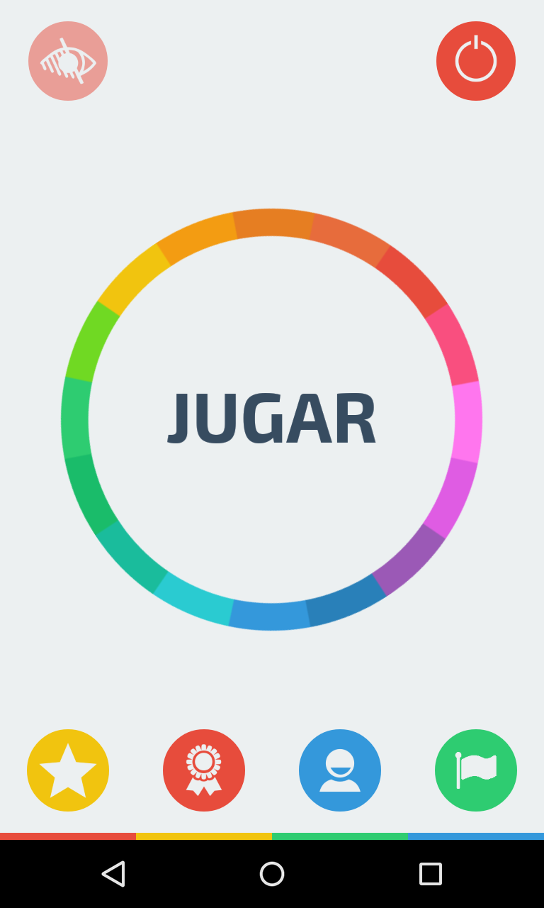 True Color es un juego gratis de agudeza visual